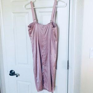 574146a170 Fashion Nova Dresses - Fashion Nova Pink bodycon bustier corset dress